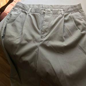 Men's dressy khaki pants